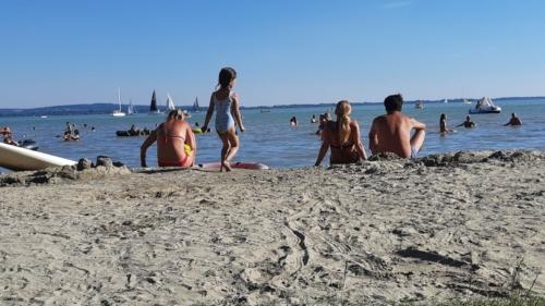 A vonyarcvashegyi Lido Strand